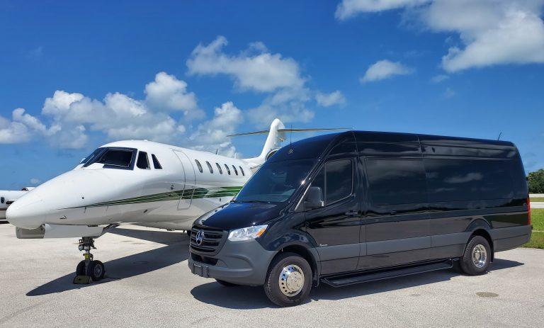 corporate airport transportation